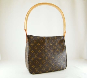 Authentic Louis Vuitton Looping MM Monogram Leather Handbag Bag Purse (SOLD!)