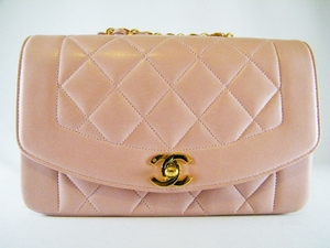 MINT! Rare Authentic Chanel 2.55 Pink Quilted Lambskin Leather Bag (SOLD!)