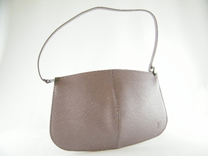 Authentic Louis Vuitton Lussac Lavender Pochette Demi-Lune Epi Leather Handbag Bag Purse (SOLD!)