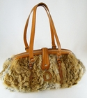 $2600 JUMBO! Authentic Christian Dior Rabbit Fur RUNWAY BAG (Sold!)
