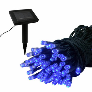 Solar Light Strand - 100 LED - Blue
