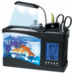 USB Powered Small Desktop Aquarium - Desktop Fish Tank