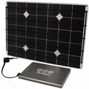 Voltaic DIY Solar Charger Kit for Laptops, Tablets & Cell Phones - 16.8 Watt Solar Panel with V60 Universal Laptop Battery