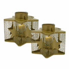 Williamsburg Flameless Tea Light Holder - Set of 2