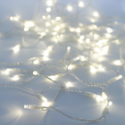 Solar String Light - 100 Warm White LEDs - 42 Feet - with Clear Wire