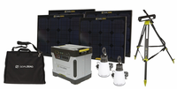Goal Zero Emergency Solar Essentials Kit Solar Generator