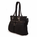 "Mobile Edge 16"" Eco-Friendly Laptop/Notebook Tote - BLACK"