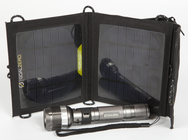 Bolt Mobile Solar Charger Kit - Rechargeable Flashlight with 3.5 Watt Solar Charger