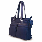 "Mobile Edge 16"" Eco-Friendly Laptop/Notebook Tote - NAVY BLUE"