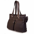 "Mobile Edge 16"" Eco-Friendly Laptop/Notebook Tote - CHOCOLATE"