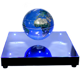 "Levitron World Stage with 3"" Levitating Globe"