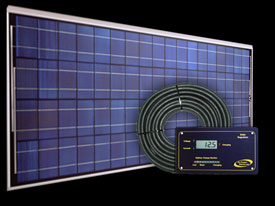 RV Solar Kit - 125 Watt Remote Power System