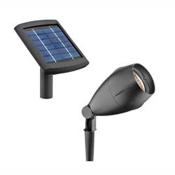 Brightest Solar Floodlight with Ground Stake