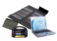 Solar Laptop Charger & Portable Power Kit 300 Watt - 12 Watt Solar Panel