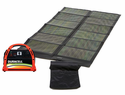 Portable Solar Power System - 600 Watt Power Pack & 62 Watt Foldable Solar Panel