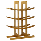 12 Bottle Bamboo Wine Rack - Natural