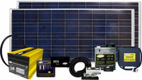 Go Power Solar Elite 320 Watt / 18.3 Amp Solar Charging System