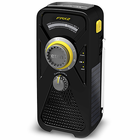 Black FRX2 Radio - Solar and Crank Radio with NOAA Weatherband and USB Cell Phone Charger