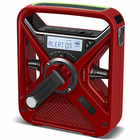The Best Emergency Radio - Solar & Crank Radio with NOAA Weatherband - USB Cell Phone Charger