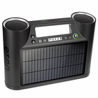 Rukus Solar Sound System - Wireless Solar Speakers with Bluetooth