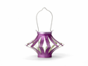 Soji Starburst Solar Lantern - Pack of 2 - Purple