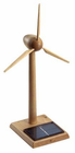 Solar Wind Turbine - Wood