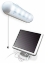 Solar-Powered Shed Light - 5 LEDs - By Maxsa Innovations