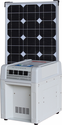 Solar Home and RV Kit - 40 Watt Solar Panel, 1800 Watt Inverter, 60 Amp Battery