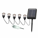 5-Piece Solar String Lights Set