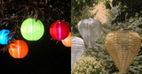 Soji Solar Lanterns & Decorative Solar Lanterns