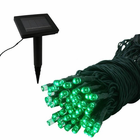Solar Light Strand - 50 LEDs - Green