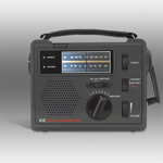 CC Solar Observer Radio - Crank Radio with NOAA Weather Band