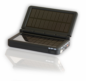 FatCat Solstice II Solar Battery Pack - Solar Charger with Built-in 2500mAh Battery