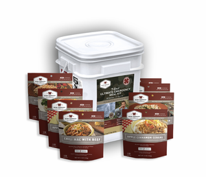 Wise Company 7-Day Ultimate Emergency Meal Kit - Long-Term Food Supply for Emergencies