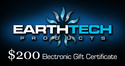 $200 Earthtech Products Gift Certificate
