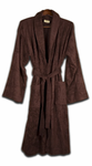 Bamboo Viscose Bathrobe - Incredibly Plush Eco-Friendly Bathrobe - Chocolate