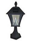 Baytown Solar Lamp with Base Mount