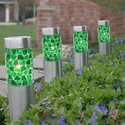 Mosaic Solar Path Lights