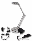 4210 ENVIROLight - LED Lamp with Solar Battery Charger - Chrome