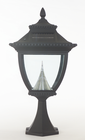 Pagoda Solar Lamp Post Base Mount