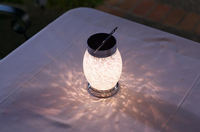 Solar Boaters Lantern - White Oval