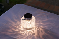 Solar Boaters Lantern - White Square