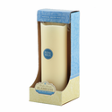 "Pacific Accents Flameless Pillar Candle with Timer -  Melted Top Design - 3"" x 8"""