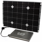Voltaic DIY Solar Charger Kit for Laptops, Tablets & Cell Phones - 16.8 Watt Solar Panel with V72 Universal Laptop Battery