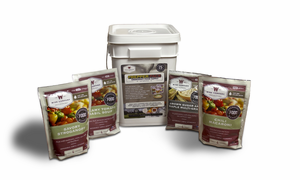 Wise Company Prepper Pack Bucket - Long-Term Food Supply for Emergencies