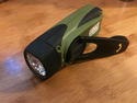 Hand Crank Flashlight - Sherpa - Olive Green