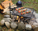 Adjust-A-Grill - Outdoor Campfire Grill