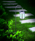 Stainless Steel Nomad Solar Lantern Post Light