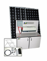 3600 Watt Solar Back Up Generator with 4 - 250+ Watt Solar Panels