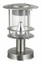 Stainless Steel Modern Solar Post Lamp